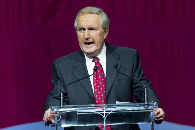 L'ancien premier ministre de la Saskatchewan Roy Romanow,... (Photo Nathan Denette, PC)
