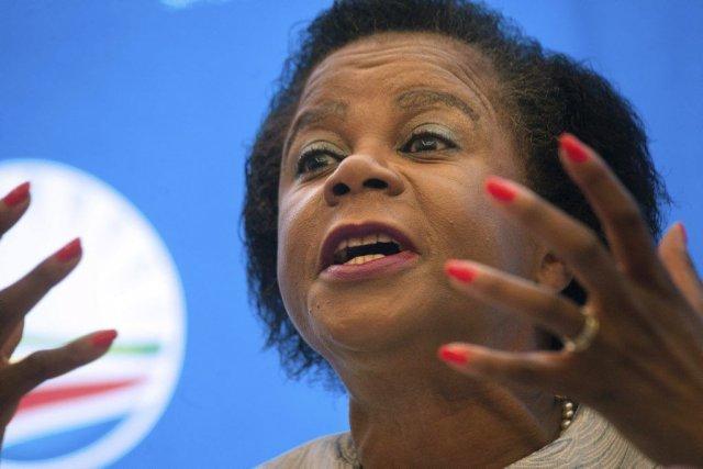 Mamphela Ramphele, qui fut la compagne de Steve... (PHOTO RODGER BOSCH, AFP)