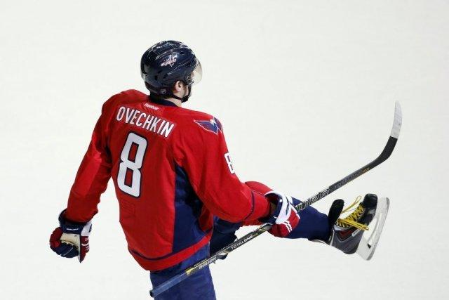 Alex Ovechkin compte 39 buts après 52 rencontres.... (PHOTO ALEX BRANDON, AP)