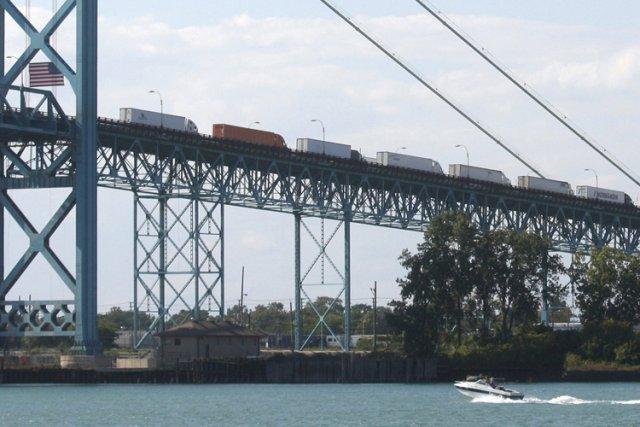 Le propriétaire du pont Ambassador est l'un des... (Photo: Reuters)