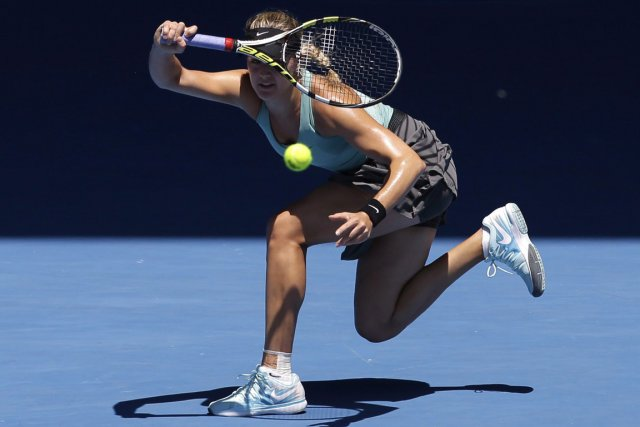 Eugenie Bouchard... (Photo Aijaz Rahi, PC)