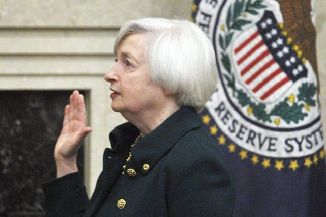 JanetYellen, 67 ans, qui remplace Ben Bernanke à... (PHOTO MANDEL NGAN, AFP)