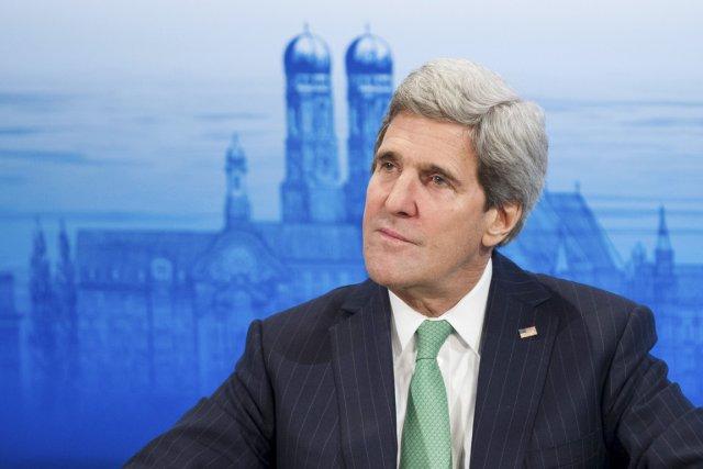 John Kerry a relancé les négociations israélo-palestiniennes en... (PHOTO LUKAS BARTH, REUTERS)