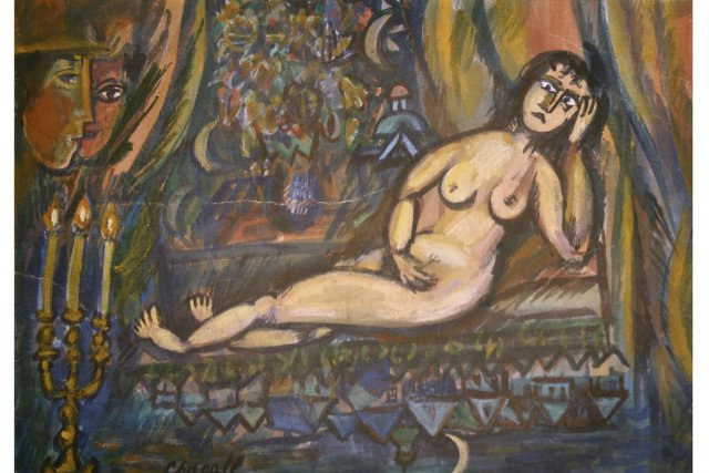 Le faux Chagall... (ap)