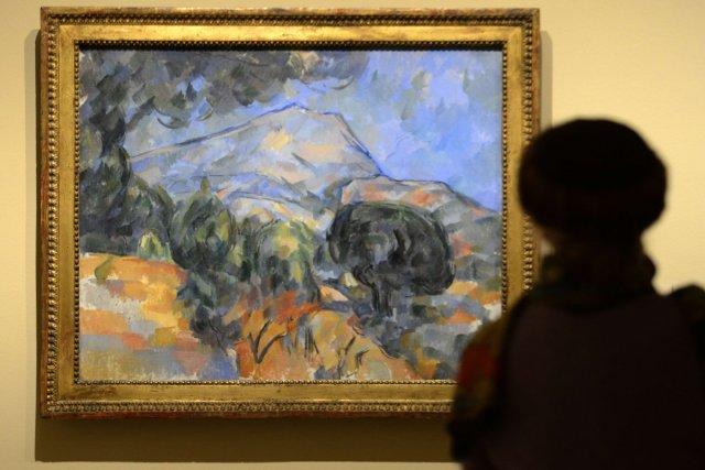 Des paysages parmi les plus célèbres de Cézanne... (Photo: AFP)