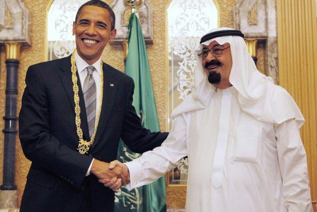 Barack Obama (à gauche) s'est jusqu'ici rendu une... (PHOTO GERALD HERBERT,ARCHIVES AP)