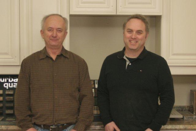 Gérard Pilon (à gauche) et Tim Shea, copropriétaire... (Photo fournie par Cuisine Pilon)