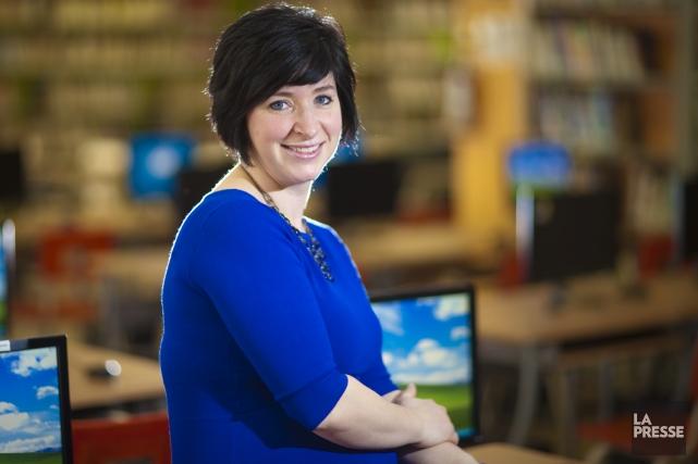 Véronique Giard est enseignante en sciences au secondaire.... (Photo André Pichette, La Presse)