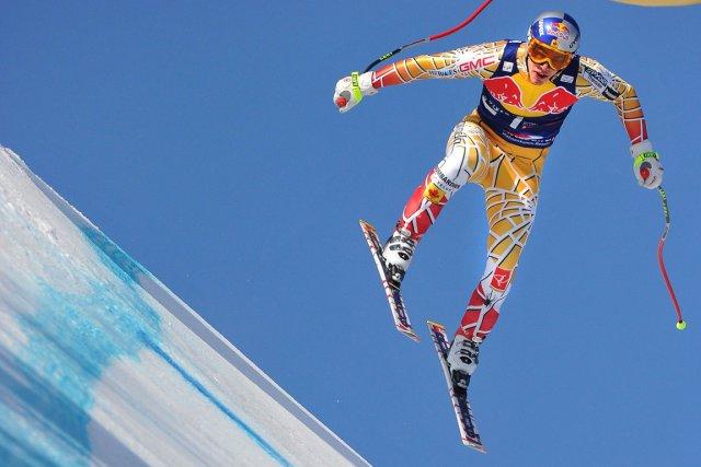Erik Guay est si habitué de dévaler les... (Photo Joe Klamar, AFP)