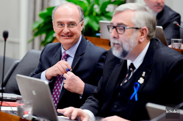 Selon les conseillers de Démocratie Québec, Paul Shoiry... (Photothèque Le Soleil, Erick Labbé)