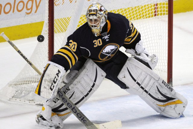 Ryan Miller (photo) prendra la direction de St.... (Photo Gary Wiepert, AP)