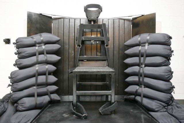 La mise à mort par peloton d'exécution a... (PHOTO TRENT NELSON, ARCHIVES AP)