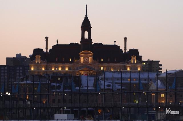 Qualifié de «succès sur toute la ligne», le recours par la Ville à ses propres... (Photo Bernard Brault, archives La Presse)