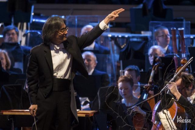 Kent Nagano dirigera l'OSM dans la septième Symphonie... (Photo: Olivier Pontbriand, archives La Presse)