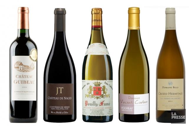 À en croire nos amis journalistes français, le fait de rafraîchir les vins au... (Photo La Presse)