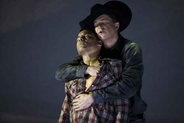 Tom Randle (Jack Twist) à l'avant et Daniel... (Photo: Reuters)