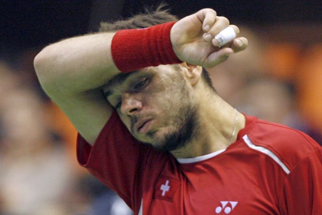 Stanislas Wawrinka... (Photo Novak Djurovic, Reuters)