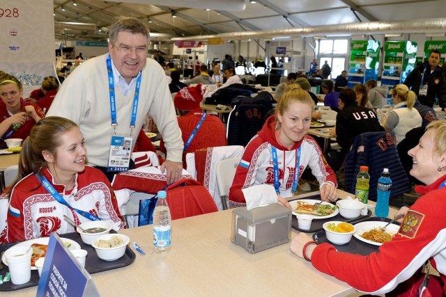 Thomas Bach, président du Comité international olympique (CIO),... (Photo Pascal Le Segretain, AFP)
