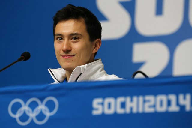 Patrick Chan... (Photo Loic Venance, AFP)
