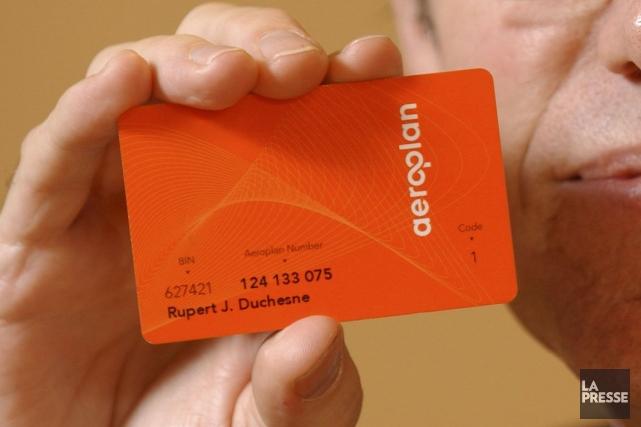Les cartes de crédit Aéroplan et les cartes... (Photo Martin Tremblay, Archives La Presse)
