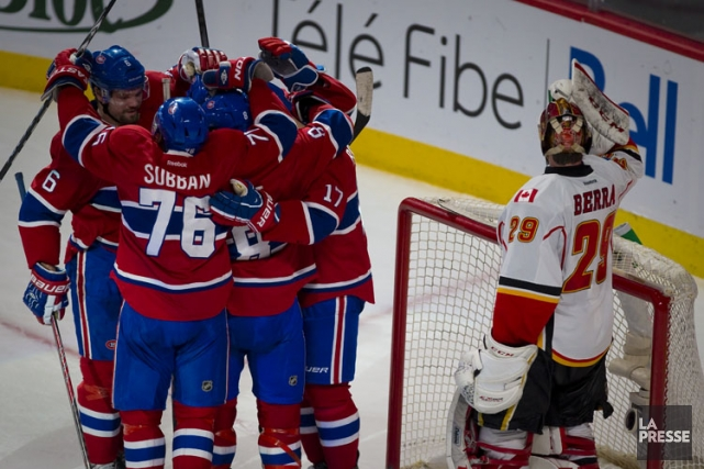 Relisez le clavardage sur le match entre le Canadien et les Flames de Calgary... (Photo: André Pichette, La Presse)