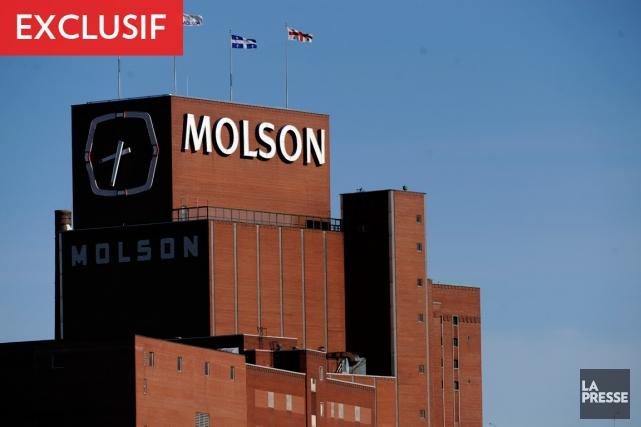 Nouvelle restructuration des effectifs chez Molson Coors (T.TAP.A)... (Photo Bernard Brault, archives La Presse)
