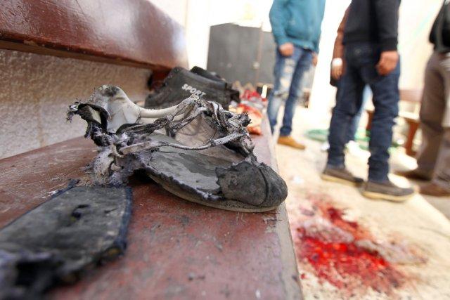 Un précédent bilan faisait état de six écoliers... (PHOTO ABDELLAH DOMA, AFP)