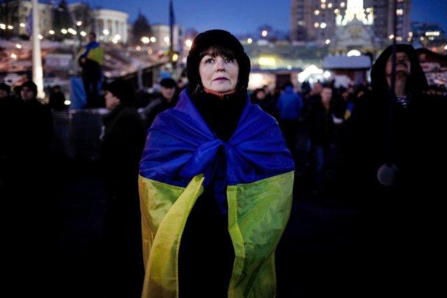 L'Ukraine est secouée depuis plus de deux mois... (PHOTO ANGELOS TZORTZINIS, AFP)