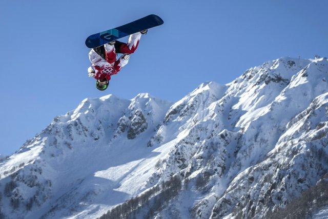 Le Québécois Maxence Parrot peut prétendre au podium... (Photo Lucas Jackson, Reuters)