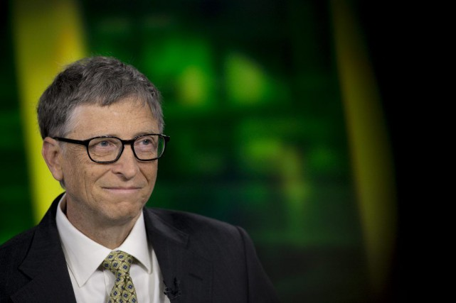 Bill Gates... (Photo Scott Eells, archives Bloomberg)