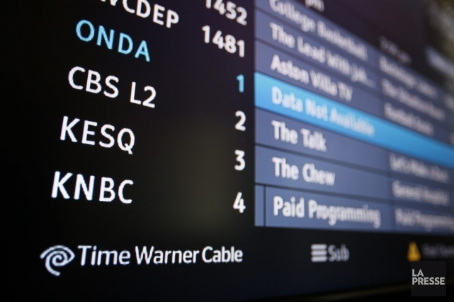 Le groupe américain de médias Time Warner (TWX) a accru son... (PHOTO SAM MIRCOVICH, REUTERS)