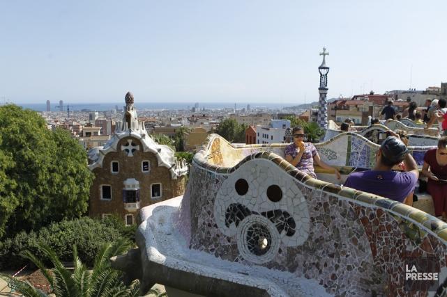 Barcelone... (PHOTO MARTIN CHAMBERLAND, LA PRESSE)