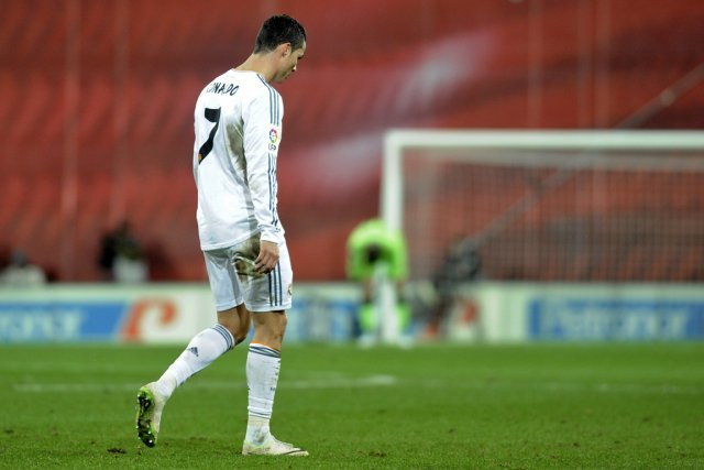 Cristiano Ronaldo... (Photo Ander Gillenea, AFP)
