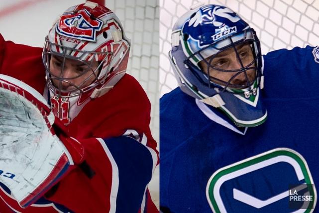 Coéquipiers avec Équipe Canada, Carey Price, du Canadien,... (Photos La Presse et PC)