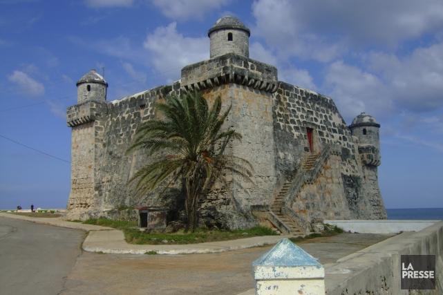 La forteresse sur la pointe de Cojimar, un... (Photo Andrée LeBel, La Presse)