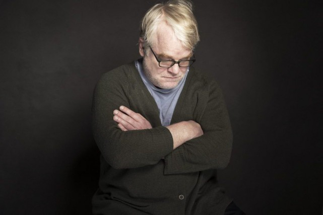Philip Seymour Hoffman lors d'une séance photo, peu... (Photo Victoria Will, Associated Press)