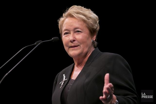La première ministre du Québec, Pauline Marois... (PHOTO DAVID BOILY, LA PRESSE)