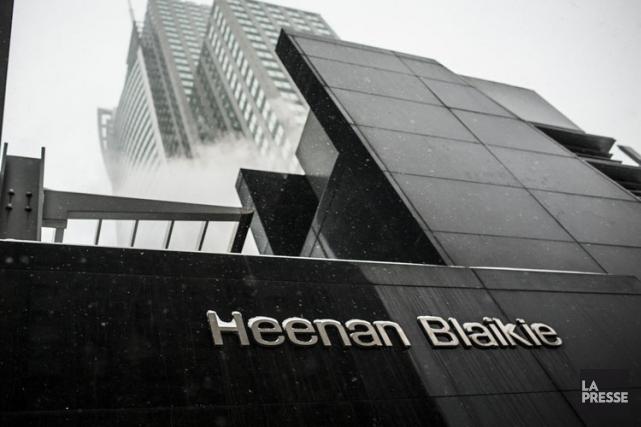 Heenan Blaikie était l'un des plus prestigieux cabinets... (Photo: Olivier Pontbriand, La Presse)