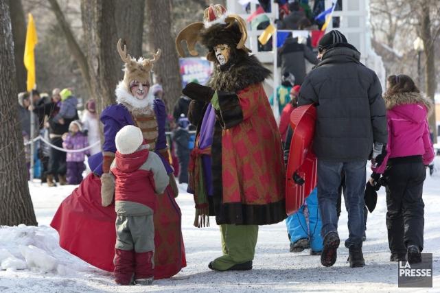 La Fête des neiges de Montréal prend fin en ce dimanche, et le temps plutôt... (PHOTO ROBERT SKINNER, ARCHIVES LA PRESSE)