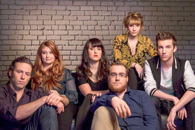 L'équipe des jeunes comédiens de SNL Québec... (Photo fournie par Télé-Québec)