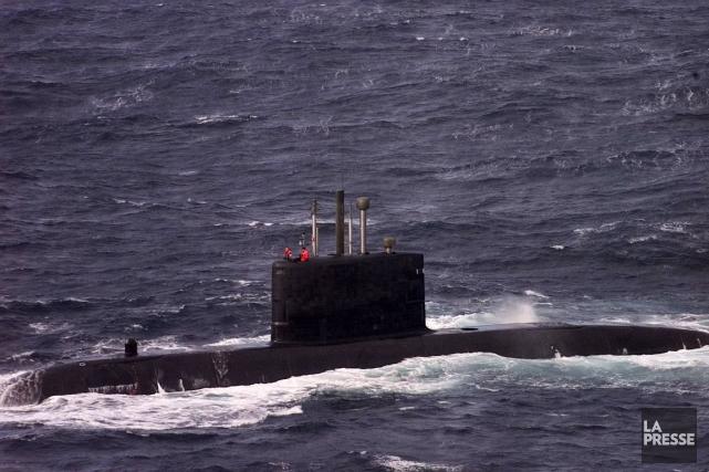 Le NCSM Windsor est le seul sous-marin en... (Photo Archives La Presse)