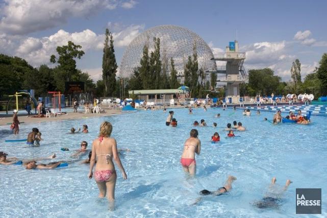 Le Centre aquatique du parc Jean-Drapeau.... (Photo: Robert Skinner, La Presse)