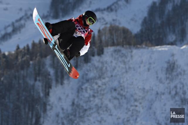 Sébastien Toutant n'a peur de rien, et ça... (Photo Bernard Brault, La Presse)