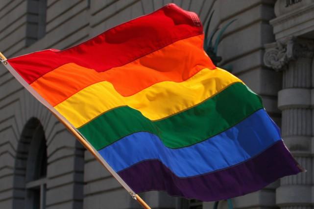 Si le maire Rob Ford a souhaité que le drapeau arc-en-ciel soit retiré à... (PHOTO ARCHIVES REUTERS)