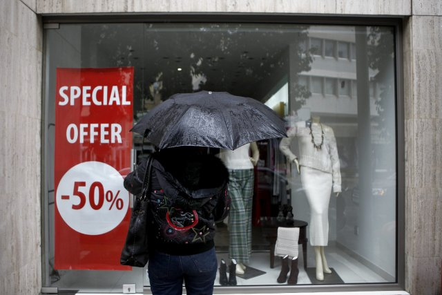 Les entreprises et familles se déclarant en faillite en Espagne ont augmenté de... (Photo Petros Karadjias, AP)