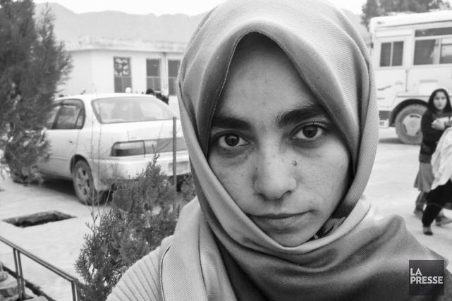 En 2008, Shamsia Husseini est devenue, bien malgré... (PHOTO LA PRESSE)