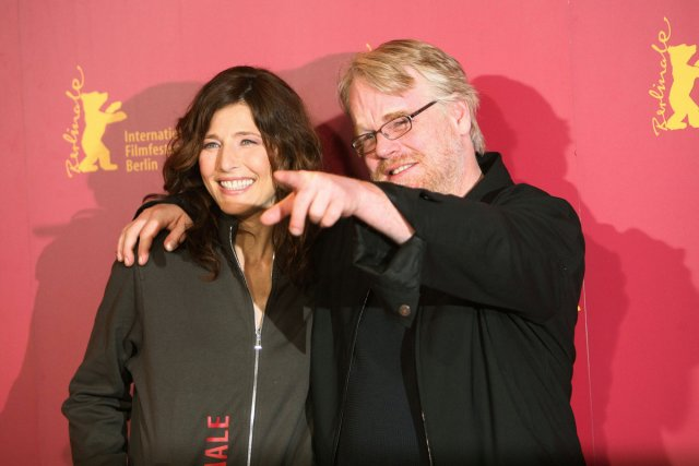 Catherine Keener et Philip Seymour Hoffmann étaient à... (Photo: archives AFP)