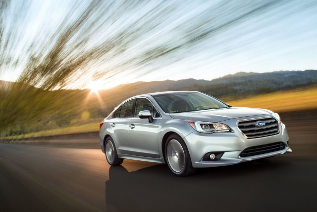 La Subaru Legacy 2015... (Photo fournie par Subaru)