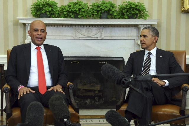 Barack Obama a souligné que Washington restait déterminé... (PHOTO JEWEL SAMAD, AFP)