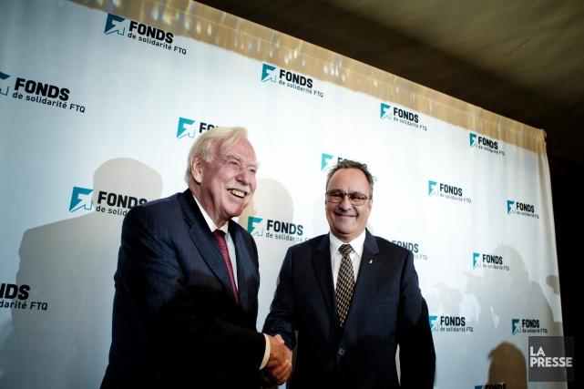 Robert Parizeau, nouveau président intérimaire du Fonds de... (PHOTO MARCO CAMPANOZZI, LA PRESSE)